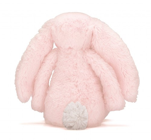 Jellycat Peluche Bashful Rose lapin Medium 31cm-2