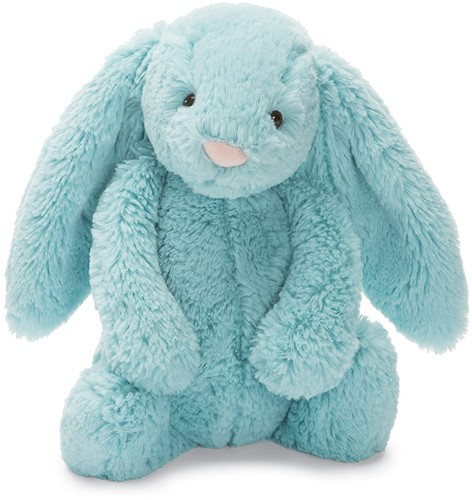 Jellycat Bashful Aqua Lapin Medium - 31cm
