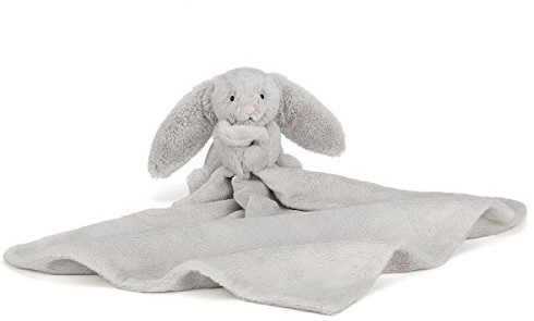 Jellycat - Doudou Bashful Silver Lapin Soother