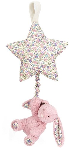 Jellycat Peluche Blossom Tulip Lapin Star Musicale Tirer 28cm