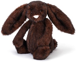 Jellycat peluche Bashful Walnut Lapin Medium 31cm