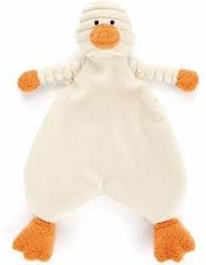 Jellycat - Peluche Cordy Roy Bébé Duckling Soother 23 cm