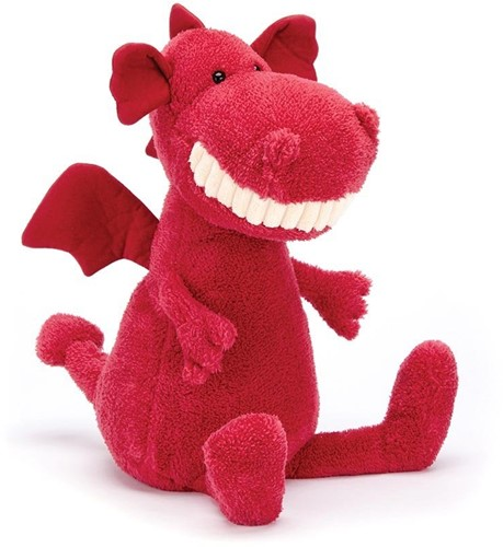 Jellycat Peluche Doudou Toothy Dragon - 36 cm