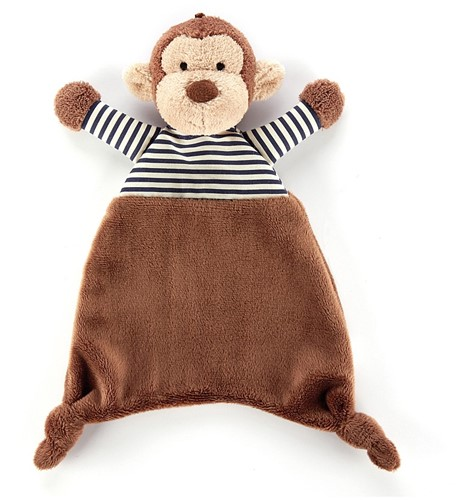 Jellycat Peluche Stripey Singe Soother 23cm