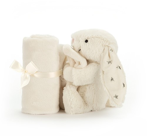 Jellycat Bashful Twinkle Lapin Soother - 34cm-3