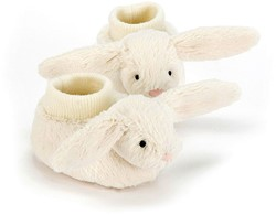 Jellycat - Peluche Bashful Cream Lapin Booties
