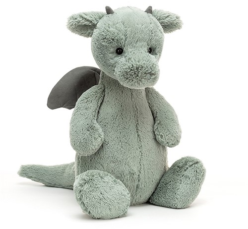Jellycat Dragon Timide Grand - 51cm