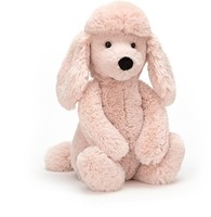Jellycat peluche Bashful caniche Medium - 31cm