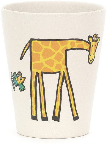 Jellycat Jungly Tails bambou Tasse - 9cm