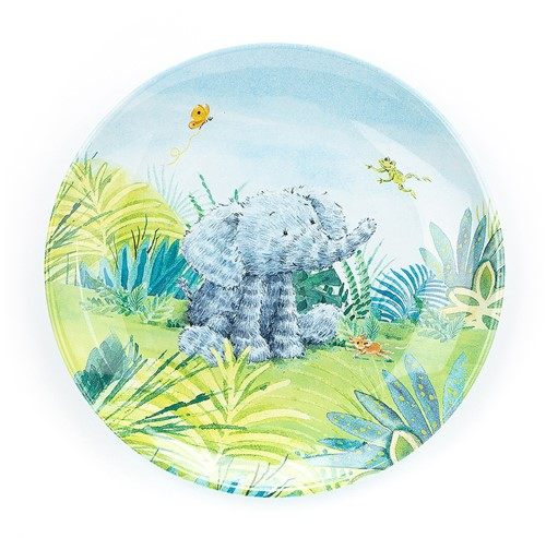 Jellycat Elephants Cant Fly Melamine Assiette - 21cm