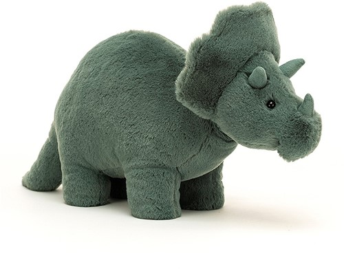 Jellycat Fossile Triceratops - 17cm