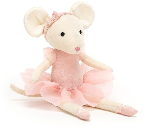 Jellycat Pirouette Souris Candy - 27cm