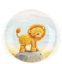 Jellycat The Very Brave Lion Melamine Plate