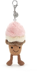 Jellycat Amuseable Ice Cream Bag Charm