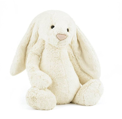 Jellycat  Bashful Cream Lapin grand - 36 cm