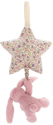 Jellycat Peluche Blossom Tulip Lapin Star Musicale Tirer 28cm-3