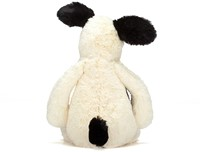 Jellycat  Bashful Chiot black and cream medium - 31cm-3
