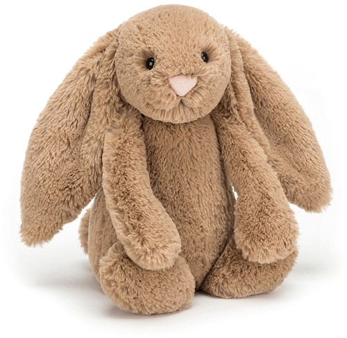Jellycat Peluche Bashful Biscuit Lapin Medium 31cm