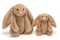 Jellycat Peluche Bashful Biscuit Lapin Medium 31cm-2