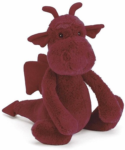 Jellycat  Bashful Dragon Medium - 26 cm