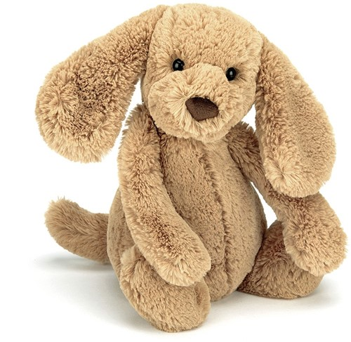 Jellycat Bashful Toffee Chiot Medium - 31 cm