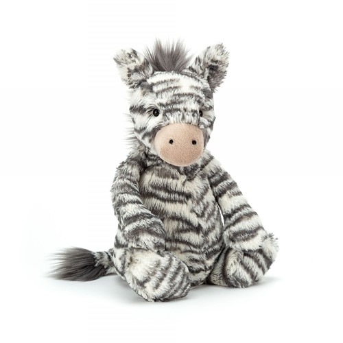 Jellycat Peluche Bashful zèbre Medium 30cm