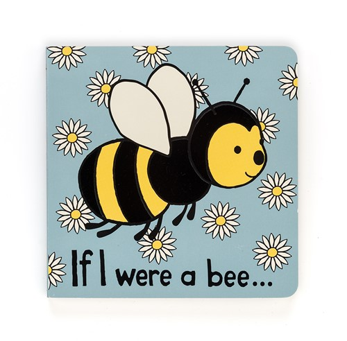 Jellycat If I were a Bee Book - 15cm