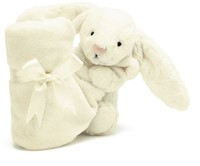 Jellycat  Bashful Tissue cream Lapin soother - 33 cm-2