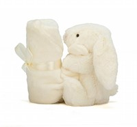 Jellycat  Bashful Tissue cream Lapin soother - 33 cm-3