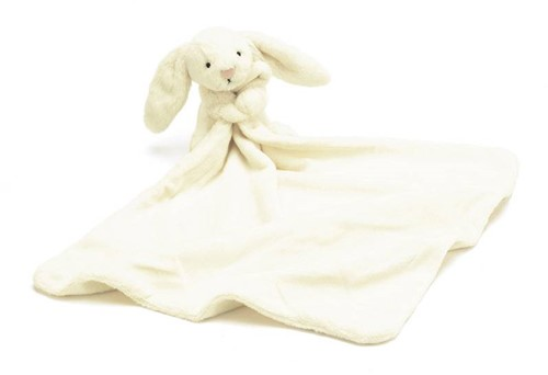 Jellycat  Bashful Tissue cream Lapin soother - 33 cm