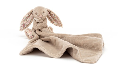 Jellycat Blossom Bea Beige Bunny Soother - 34cm