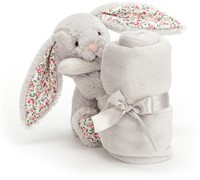 Jellycat Blossom Silver Lapin Doudou - 33cm-2
