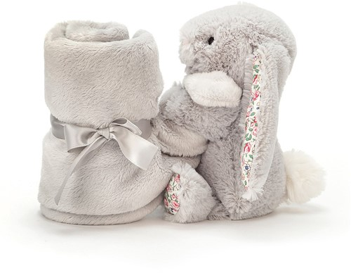 Jellycat Blossom Silver Lapin Doudou - 33cm-3