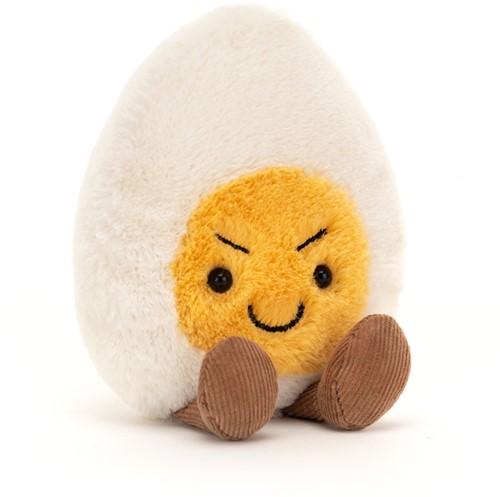 Jellycat Boiled Egg Cheeky - 14x8cm