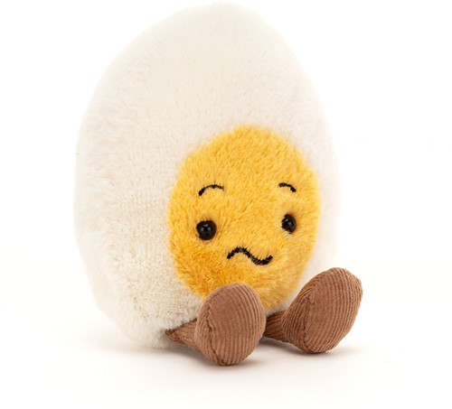 Jellycat Boiled Egg Confused