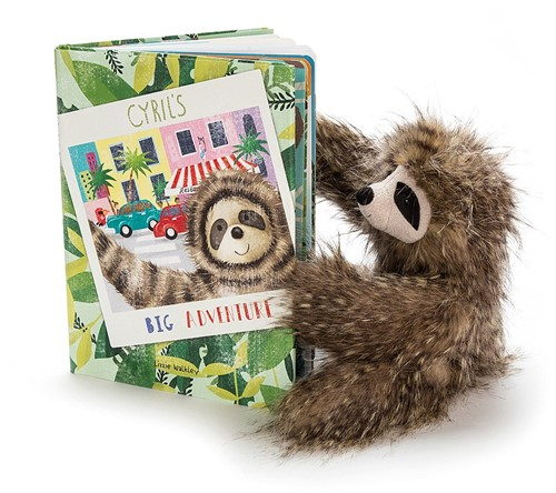 Jellycat Cyrils Big Adventure Book - 29cm-3
