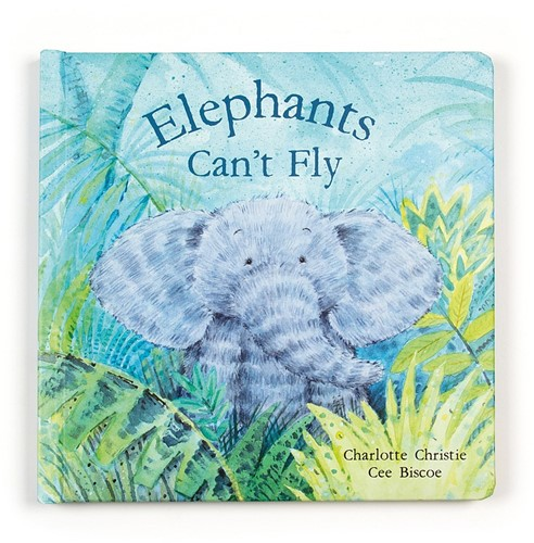 Jellycat Elephants Cant Fly Livre - 23cm