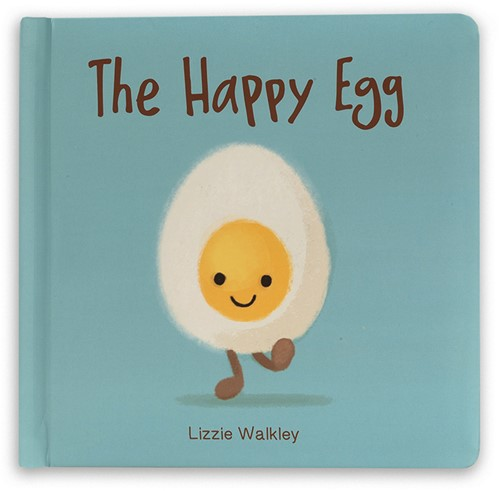 Jellycat The Happy Egg Book - 19x19cm