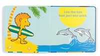 Jellycat Leo The Lion Who Loves to Surf Book - 17cm-3