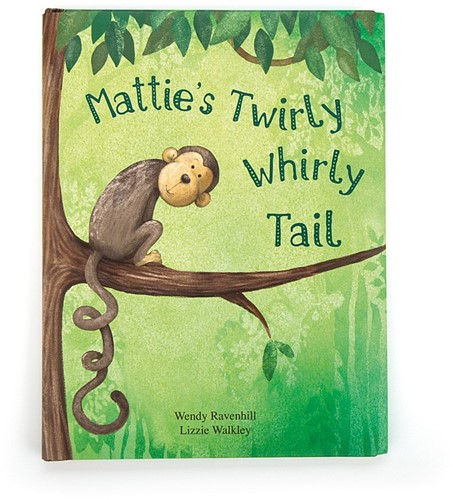 Jellycat Matties Twirly Whirly Tail livre - 26cm