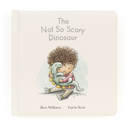 Jellycat The Not So Scary Dinosaur Book - 19cm