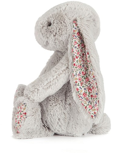 Jellycat Blossom Argent Lapin Grand - 36cm-2