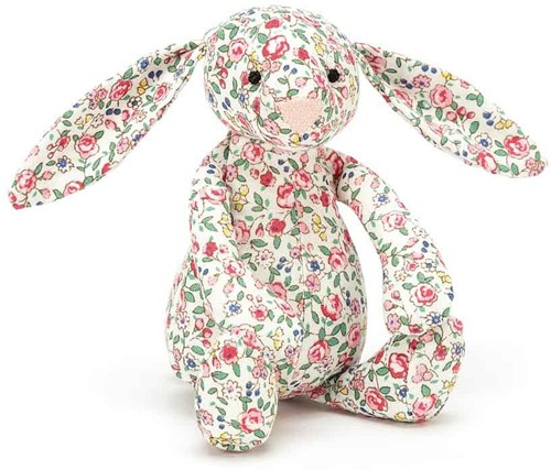 Jellycat Peluche Blossom Silver Lapin petit 13cm