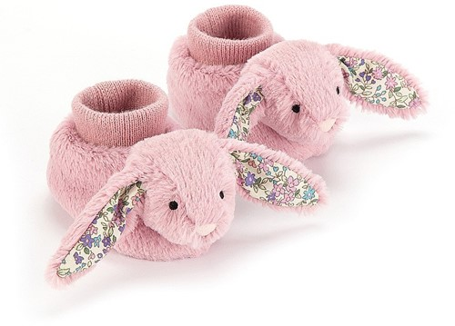 Jellycat Blossom Tulip Lapin Chaussons - 10cm