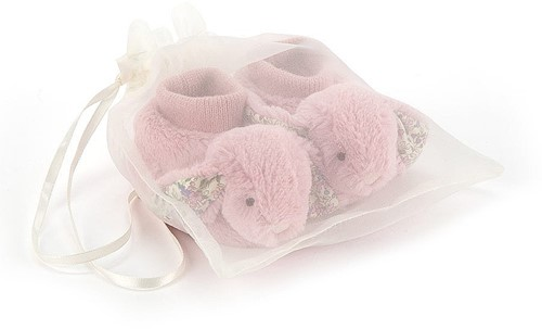 Jellycat Blossom Tulip Lapin Chaussons - 10cm-2