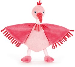 Jellycat Flapper Flamant Soother 23 cm