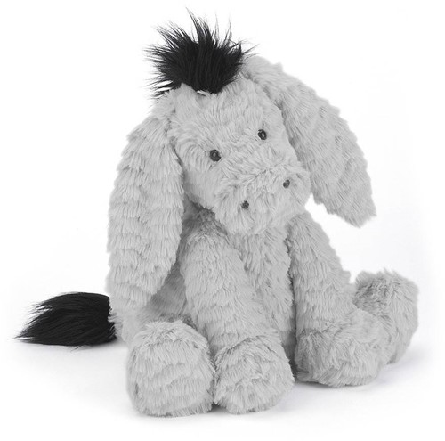 Jellycat Fuddlewuddle Âne medium - 23 cm