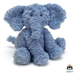 Jellycat Fuddlewuddle Éléphant Medium - 23cm