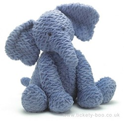 Jellycat  Fuddlewuddle Élephant Grand - 44 cm