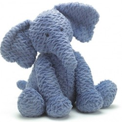 Jellycat  Fuddlewuddle Éléphant grand - 31 cm